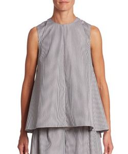 Adam Lippes | Striped Cotton Shell