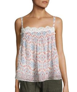 Joie | Sevy Printed Silk Camisole