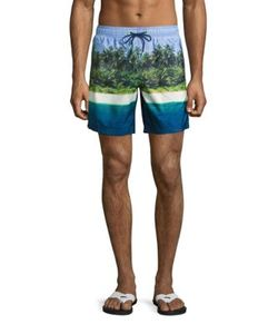 Sundek | Island Photo Board Shorts