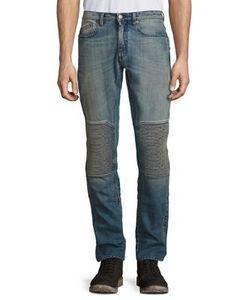 Belstaff | Rod Straight-Fit Faded Moto Jeans