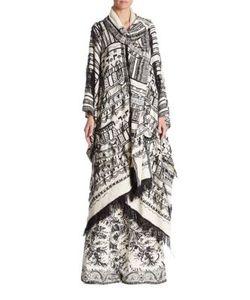 Etro | Fringe Silk Knit Poncho