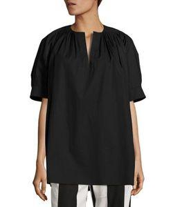 Derek Lam | Short Sleeve Pleated Top
