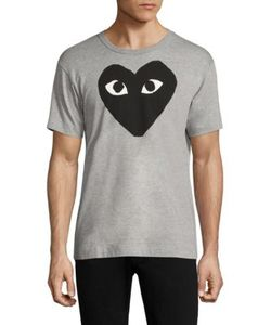 Comme Des Garçons Play | Printed Cotton Tee
