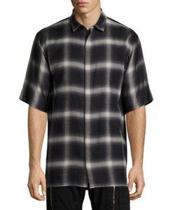 Helmut Lang | Plaid Cotton Shirt
