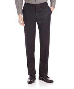Canali | Flannel Wool Trousers
