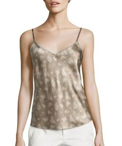 Vince | Calicoprint Silk Camisole