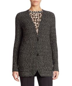 Akris | Cotton Boucle Knit Cardigan