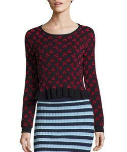 Altuzarra | Cherry Jacquard Wool Sweater