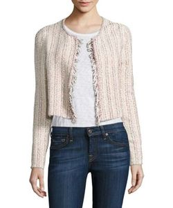 Theory | Galinne Cropped Boucle Jacket