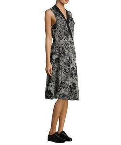 Lanvin | Pansy Wrap Dress