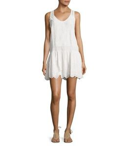 Joie   Senon Silk Lace Embroide Dress