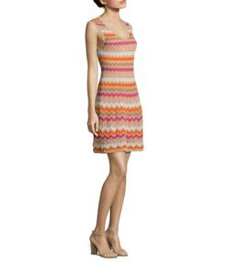 M Missoni | Ombre Zigzag Dress