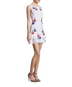 Tanya Taylor | Lulu Embellished Applique Dress