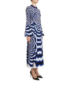 Mary Katrantzou | Desmine Flower-Print Silk Dress