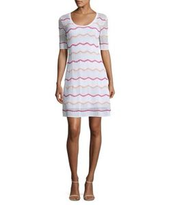 M Missoni | Zigzag Shift Dress