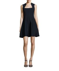 Yigal Azrouel | Sleeveless Fit And Flare Dress