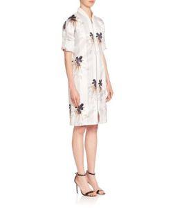 Victoria Beckham | Printed Zip-Front Dress