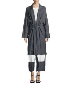 Rosetta Getty | Split Shawl Coat