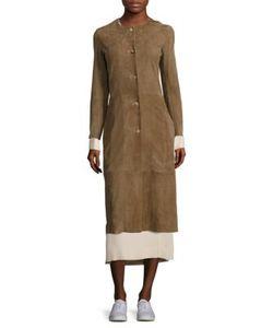 The Row   Stellan Suede Coat