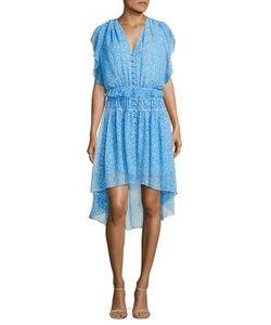 The Kooples | Camellia Printed Ruffled Dress