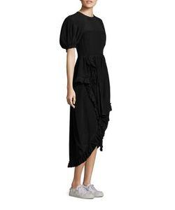 Simone Rocha | Ruffle Silk Dress