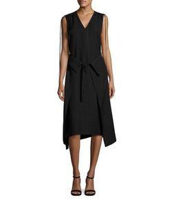 Derek Lam 10 Crosby | Wrap Front Dress
