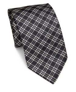 Brioni | Plaid Silk Tie