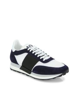 Moncler | Horace Suede Mesh Sneakers