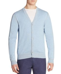 Saks Fifth Avenue Collection | Ribbed Button-Front Cardigan