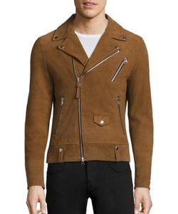 Mackage | Asymmetrical Zip Leather Jacket