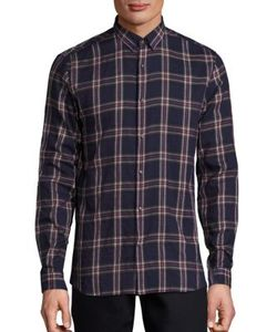 The Kooples | Plaid Patterned Cotton Shirt