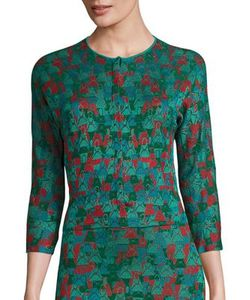 Akris | Large Ai Intarsia Knit Cardigan