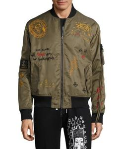 Haculla | Embroide Bomber Jacket