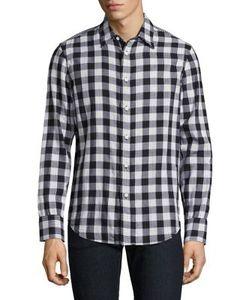 Rag & Bone | Halsey Fabric Block Gingham Checke Shirt