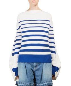 Sacai | Striped Knit Pullover