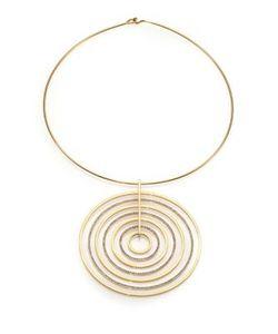 Michael Kors | Brilliance Statement Pave Pendant Collar Necklace