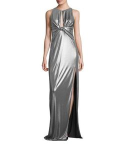 Halston Heritage | Jersey Cutout Gown