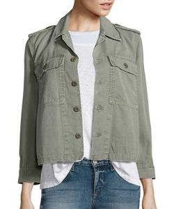 Amo | Cotton Canvas Army Jacket