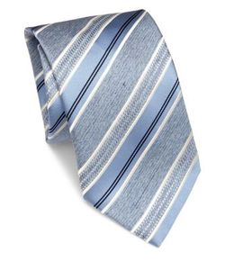 Brioni | Striped Silk Tie