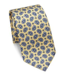 Brioni | Paisley Patterned Silk Tie