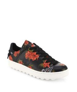 Coach | Wild Lily Leather Sneakers