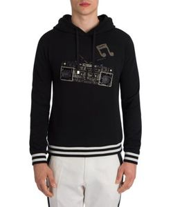 Dolce & Gabbana | Stereo Appliqued Hoodie