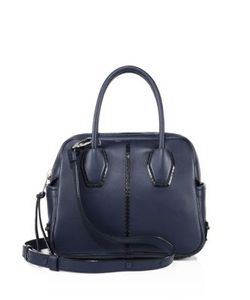 Tod's | Miky Bauletto Mini Leather Satchel