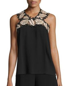 Yigal Azrouel | Sleeveless Leaf Top