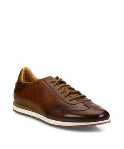 Santoni | Low-Top Leather Sneakers