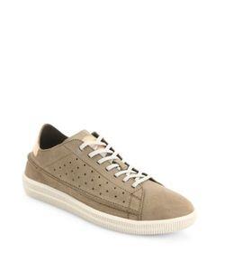 Diesel | Dyneckt Naptik Perforated Suede Sneakers