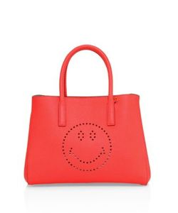 Anya Hindmarch | Ebury Small Smiley Leather Tote