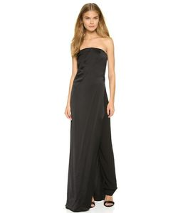 Donna Karan New York | Strapless Gown With Trousers