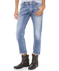 Goldsign | His Boyfriend Cropped Jeans