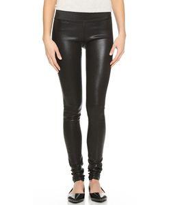 Goldsign | Zebra Coated Legging Jeans